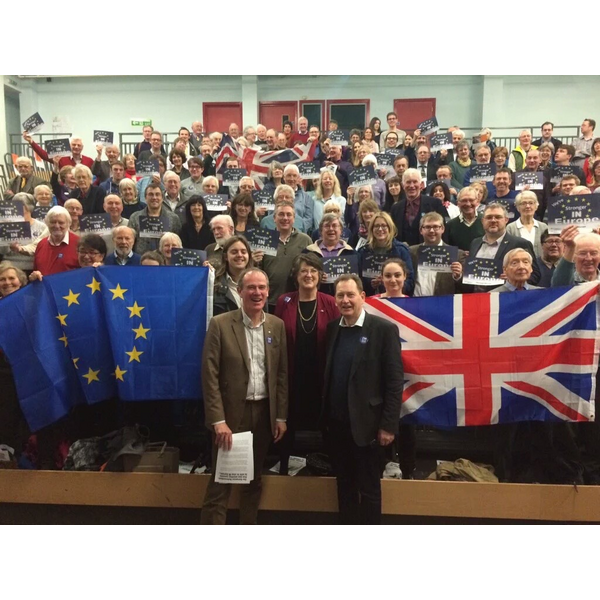 Launch of SW Lib Dem Europe referendum campaign