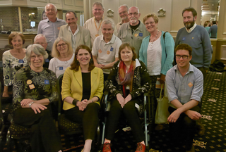 Plymouth Lib Dems with Jo Swinson at leadership hustings in Plymouth (Keith Selmes)